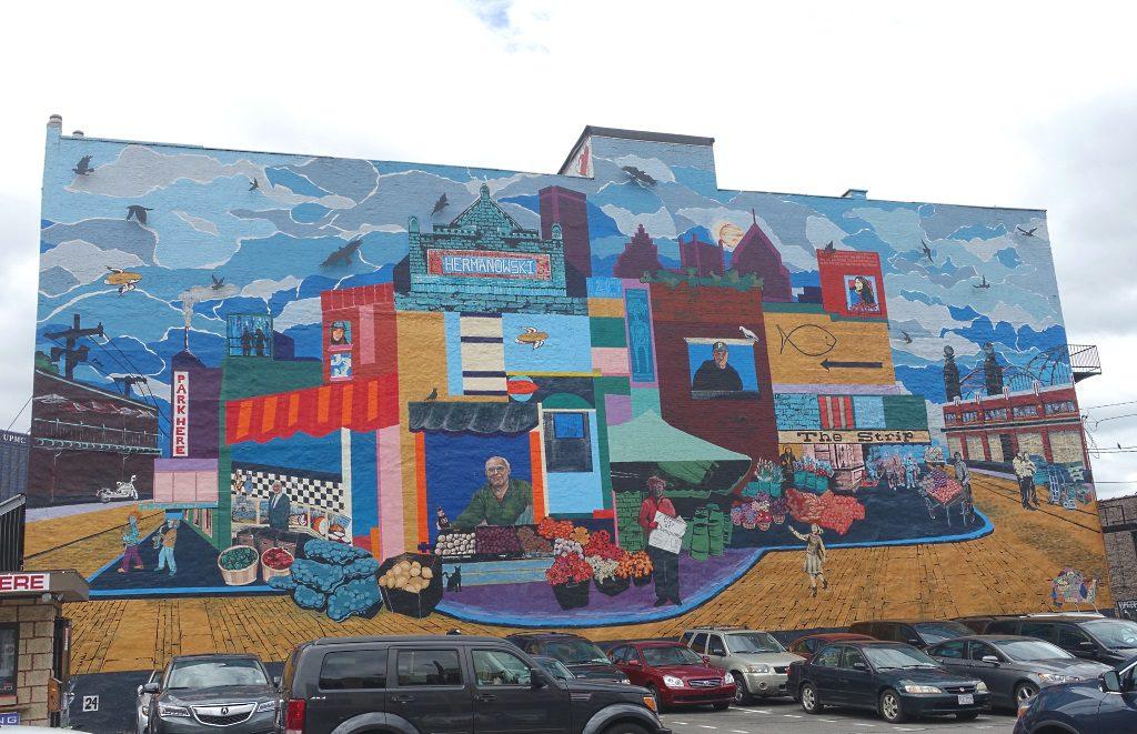 Pittsburgh: Strip Mural