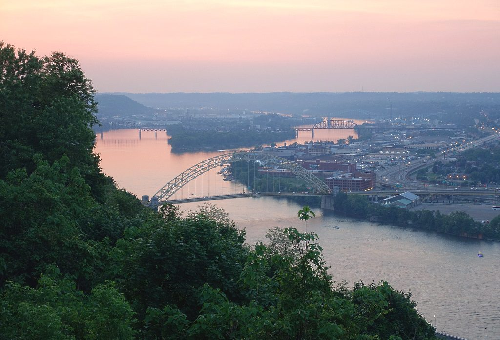 Ohio River, Pittsburgh