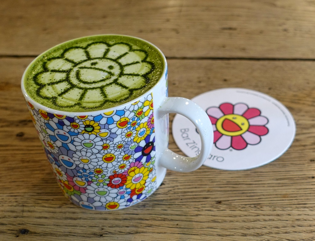 Bar Zingaro: Flower Matcha Latte