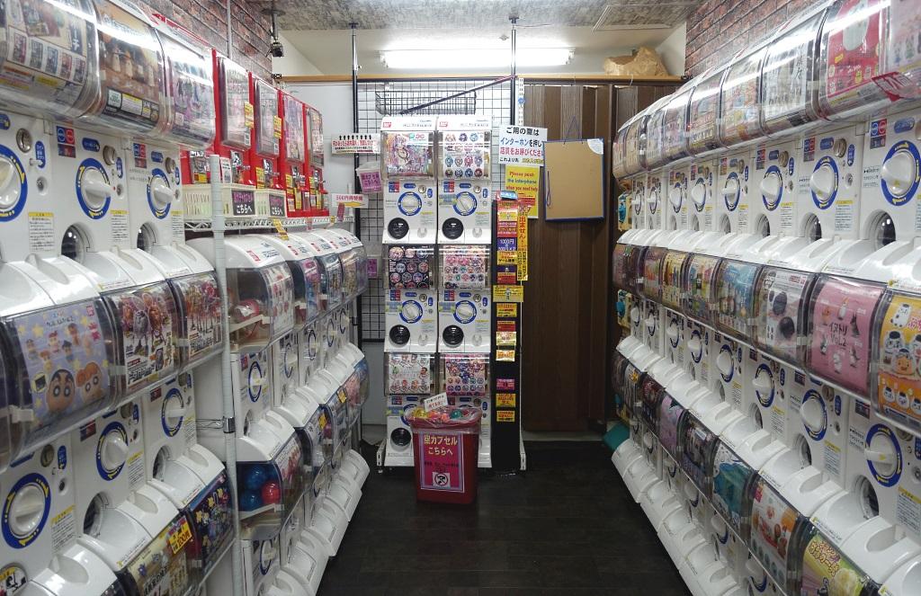 Nakano Broadway: Spielzeug aus Automaten