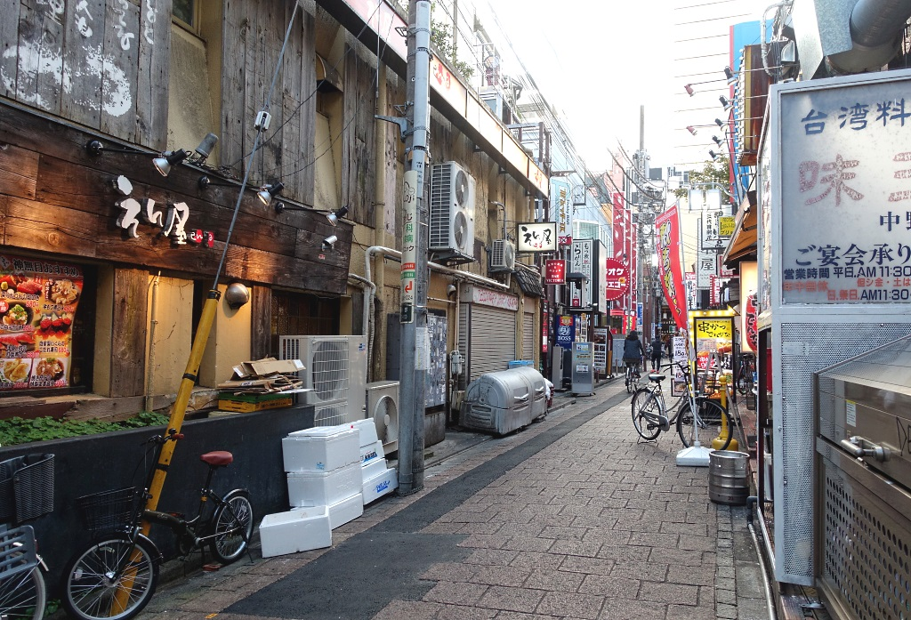 Nakano Broadway food alley