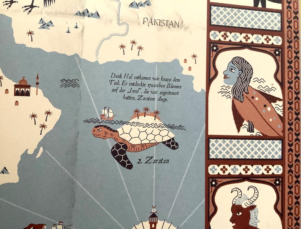 Stuart Hill, Sandra Lawrence: Atlas der Fabelwesen