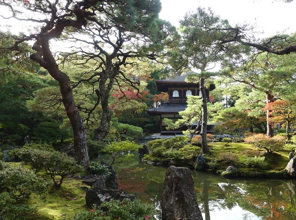 Silberner Pavillon Kyoto