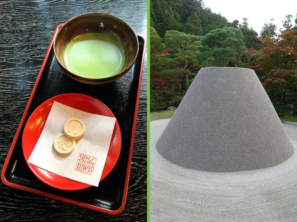 Tee in Kyoto: Ginkaku-ji