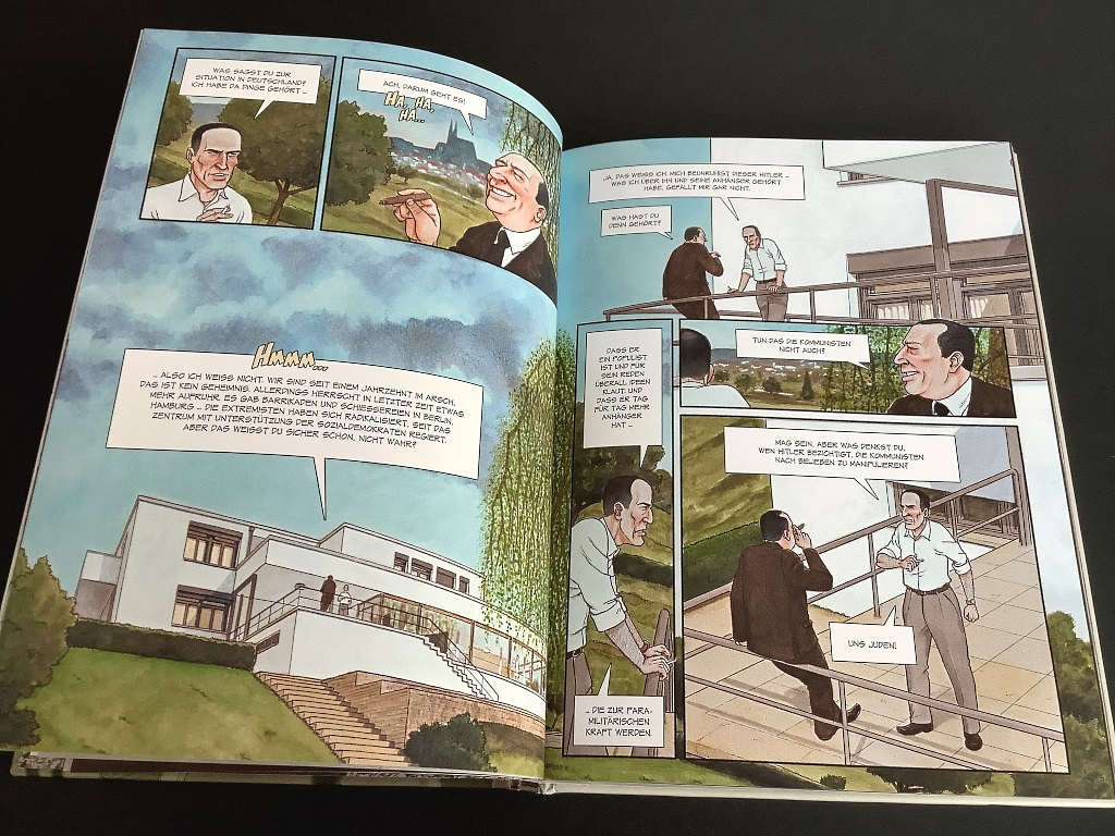 "Graphic Novel ""Mies. Mies van der Rohe - ein visionärer Architekt"""