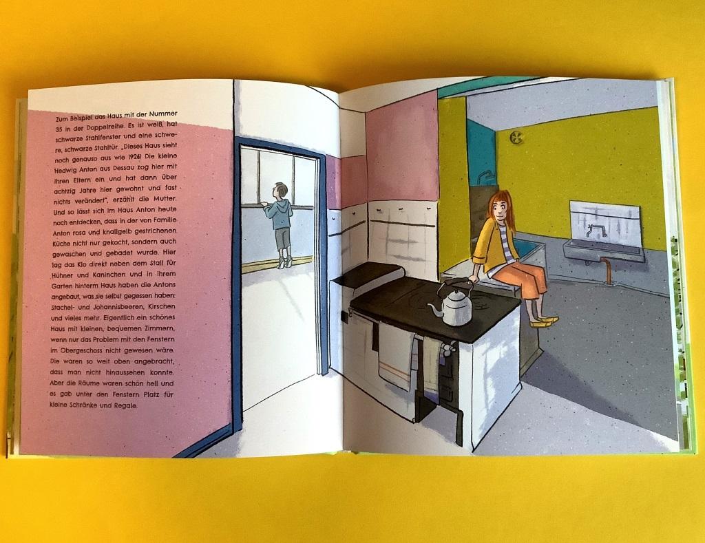 Bauhau-Kinderbuch: Architekturführer Dessau