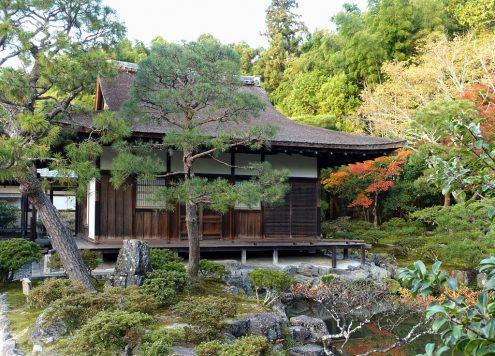 Ginkaku-ji: Teehaus