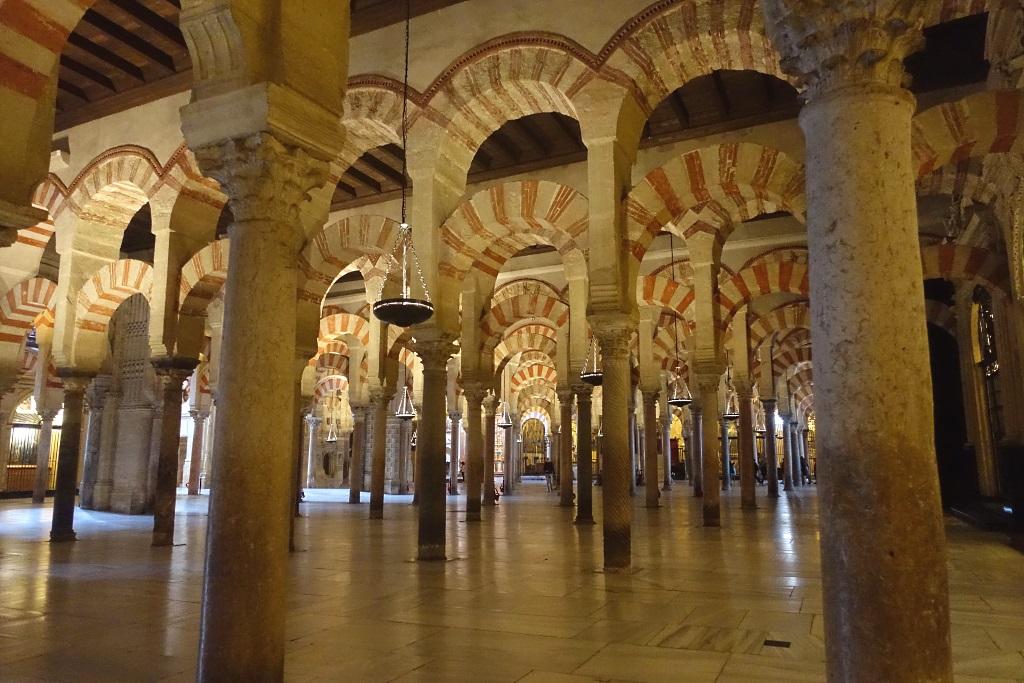 Cordoba mit Kind: Mezquita-Catedral