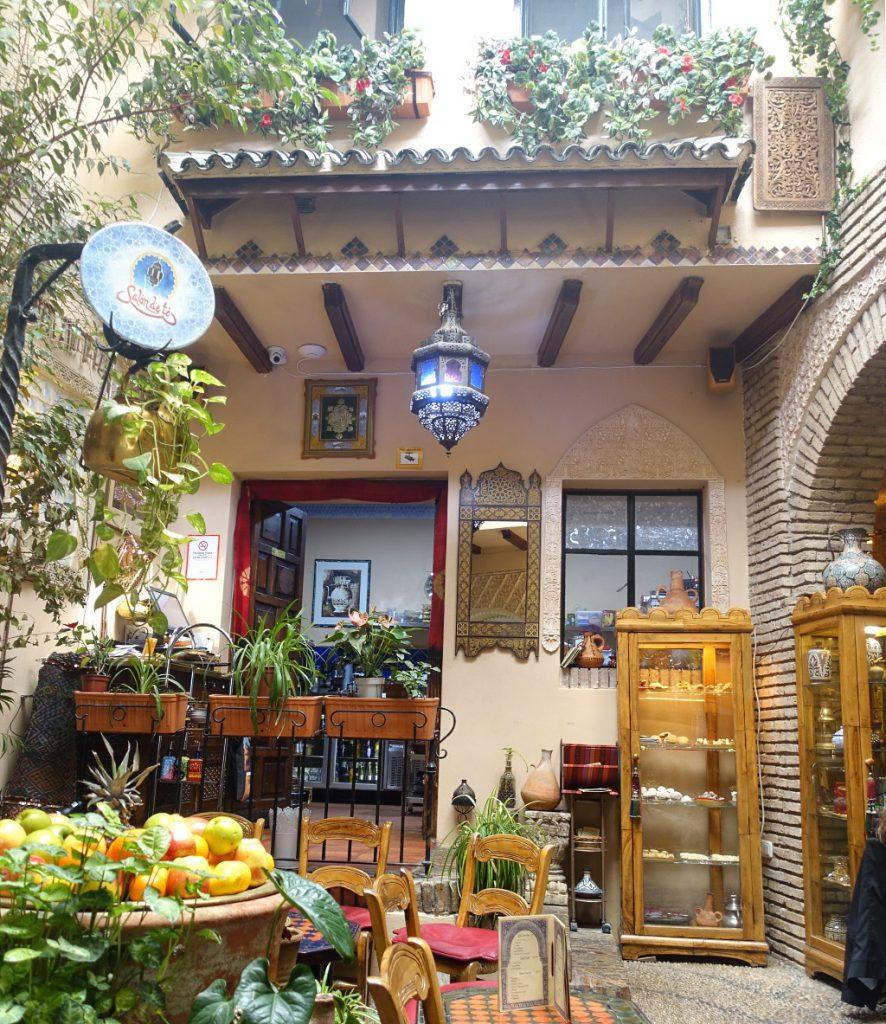 Córdoba mit Kind: Salon de té