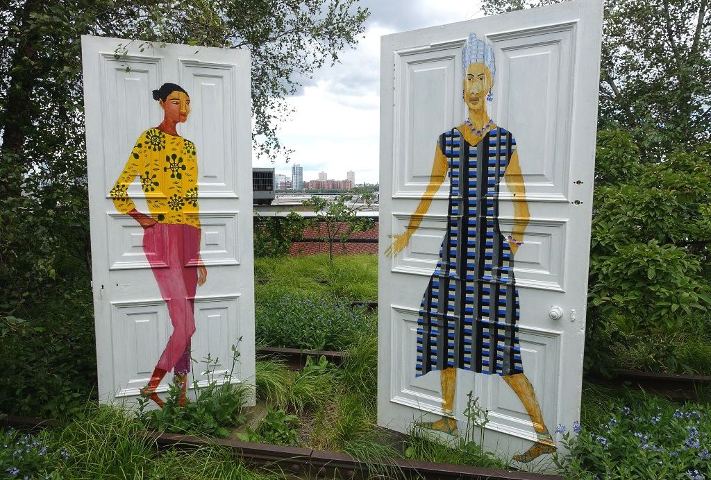 High Line Art, Lubaina Himid