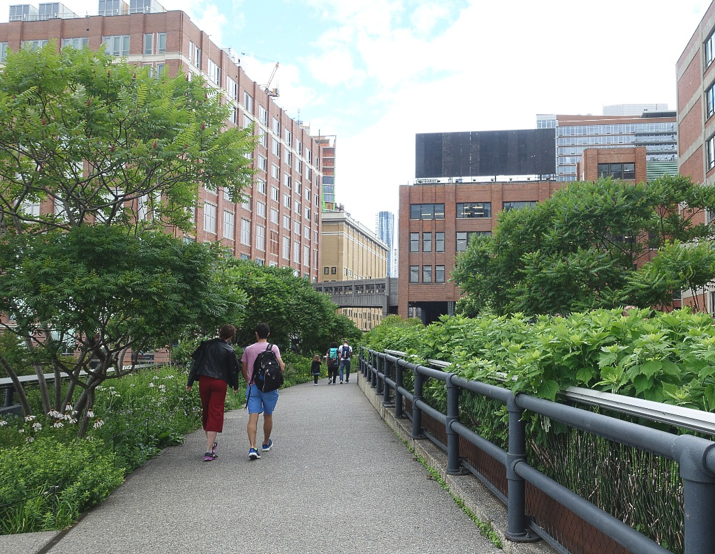 New York mit Teenagern: High Line
