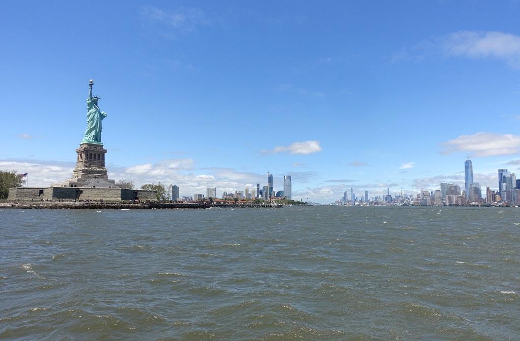 NYC mit Familie: Freiheitsstatue