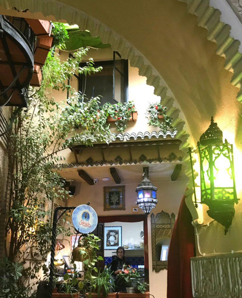 Córdoba mit Kind: Salón de té