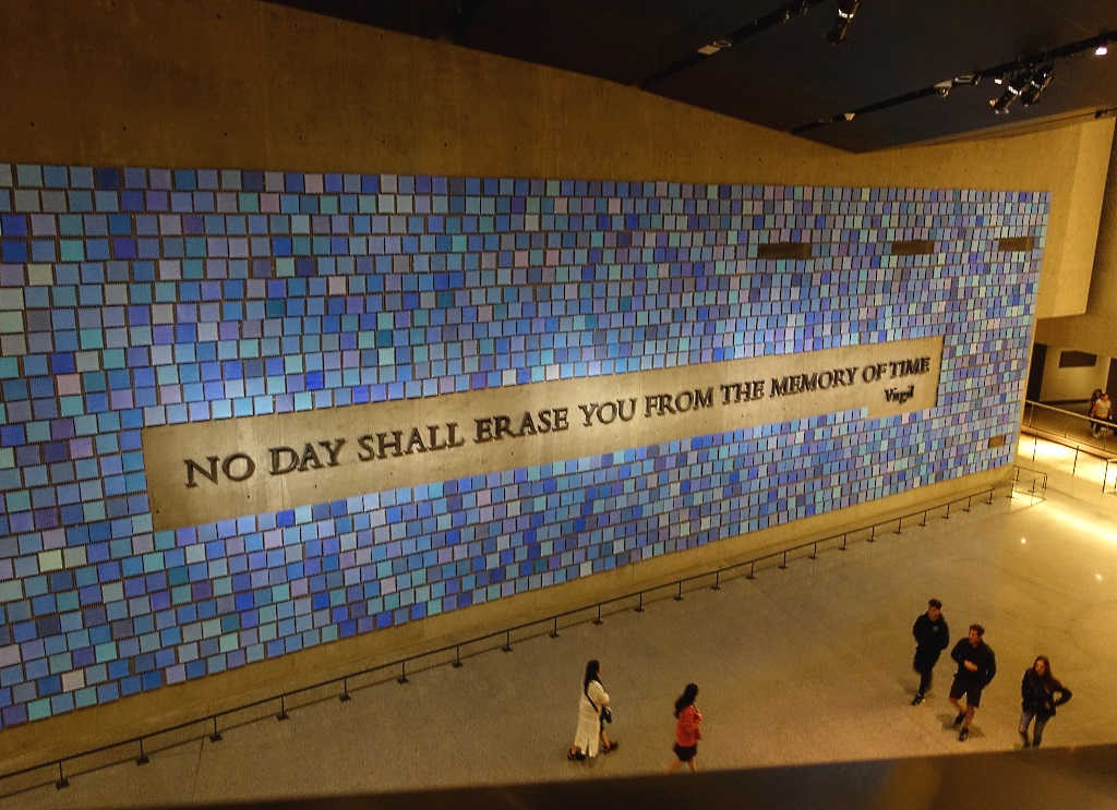 9/11 Museum, art installation Spencer Finch