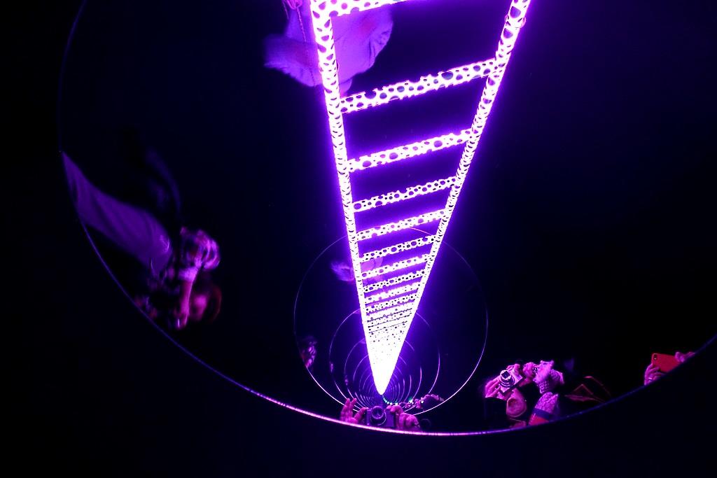 Yayoi Kusama Museum: Ladder to Heaven