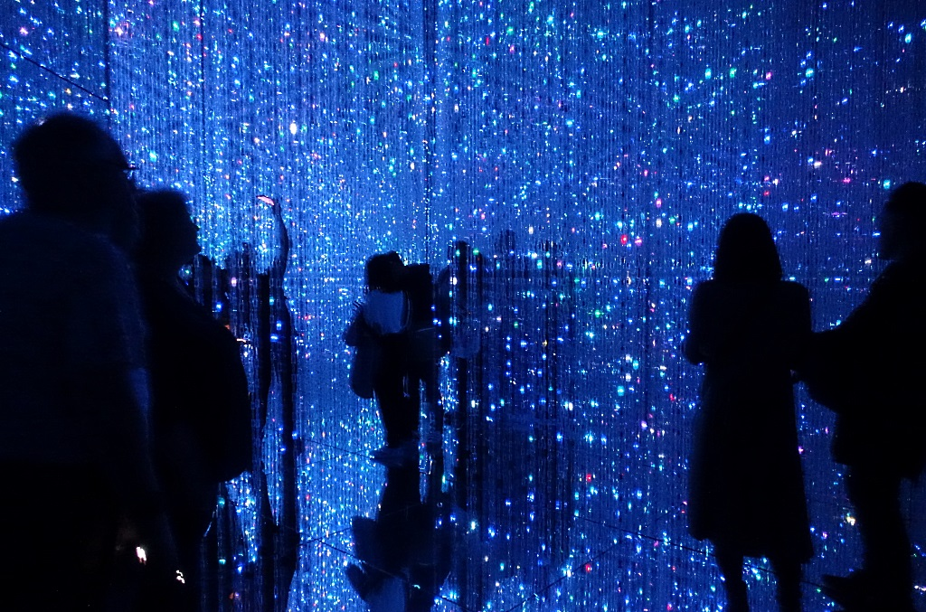 Kunst in Tokio: teamlab Borderless