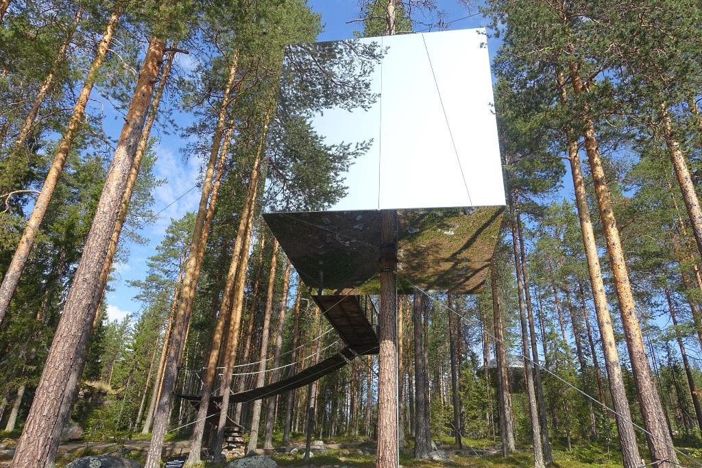 Erfüllter Reisetraum: Das Treehotel in Schweden — KindAmTellerrand