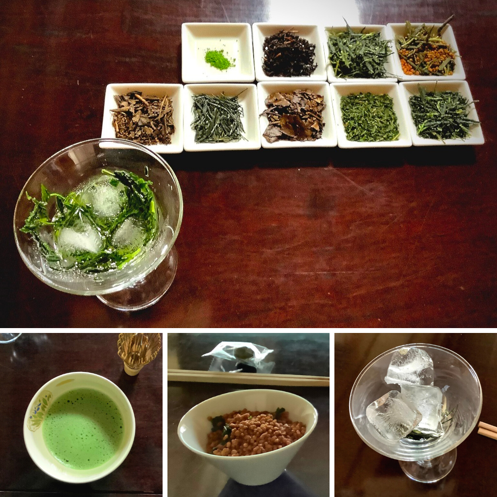 Tea tasting Kyoto Obubu Tea Farms