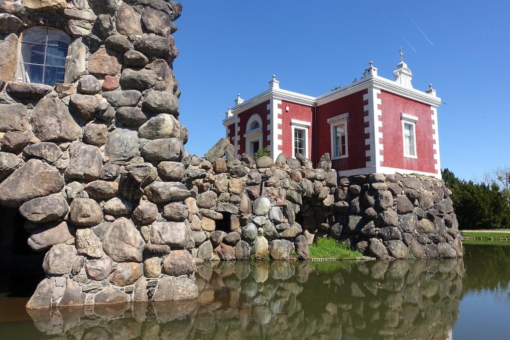 Insel Stein und Villa Hamilton