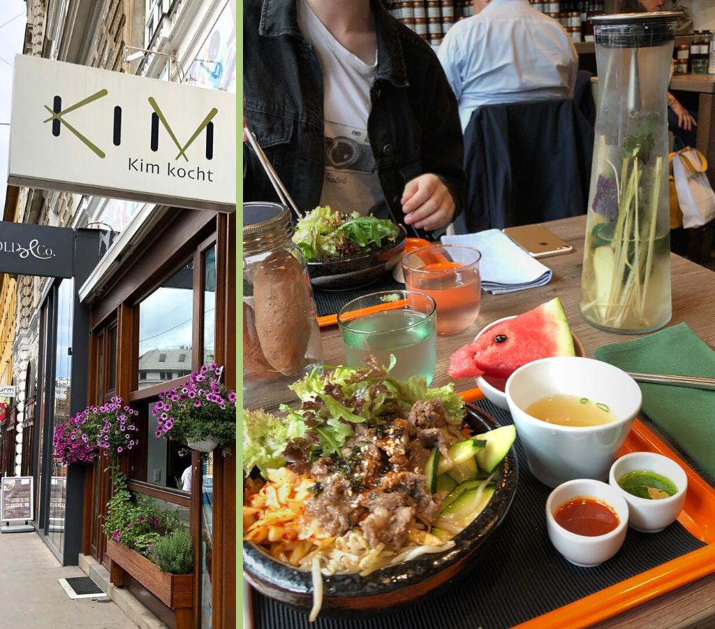 Essen in Wien: Kim Sohyi
