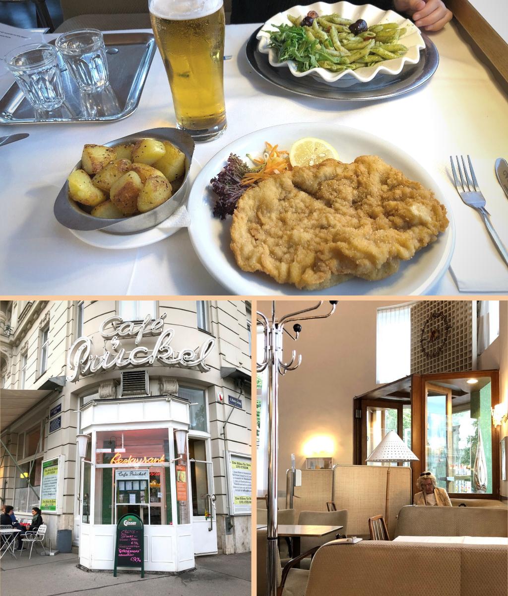 Essen in Wien: Café Prückel