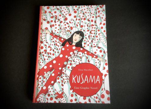 Graphic Novel über Yayoi Kusama