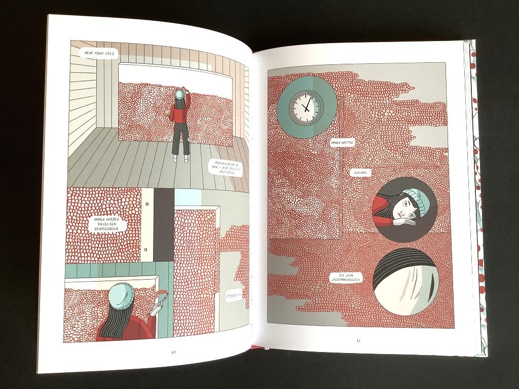 Yayoi Kusama Graphic Novel