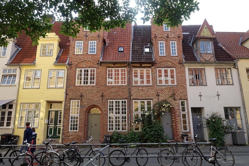 Lübeck mit Teenager