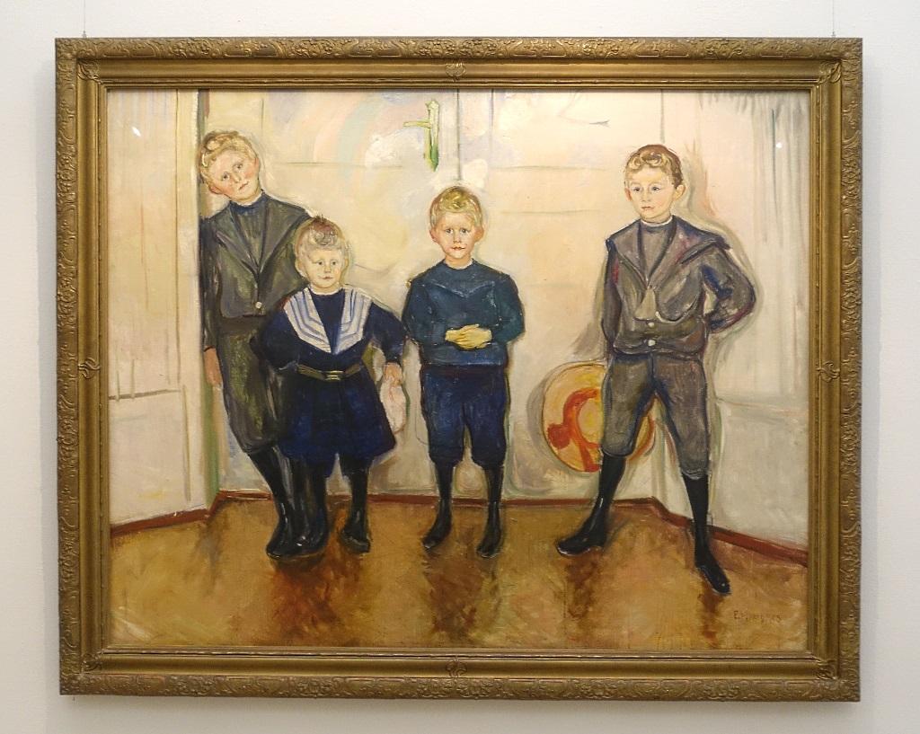 Edvard Munch in Lübeck