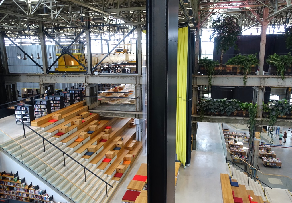 LocHal Tilburg Architecture