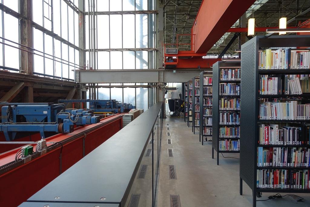 Industrial Style: LocHal Tilburg