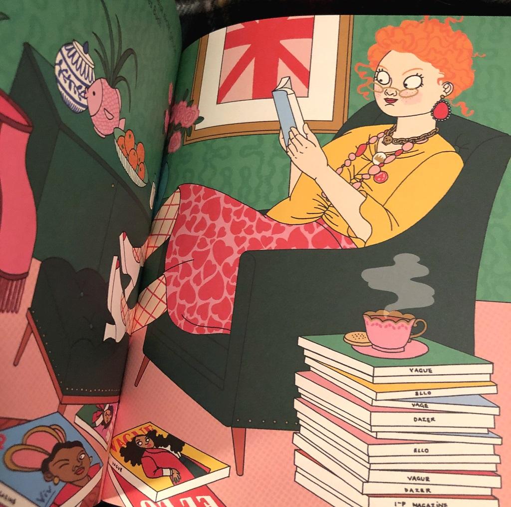 Das Bilderbuch über Vivienne Westwood aus dem Insel Verlag