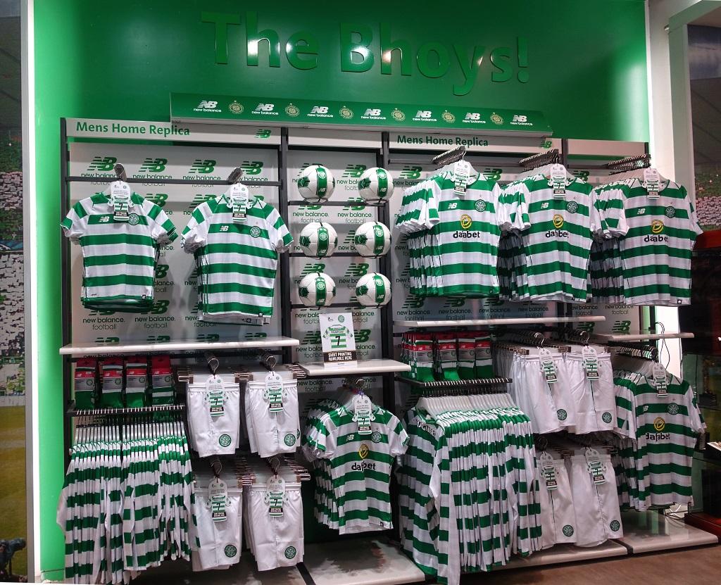 Celtic Glasgow Superstore
