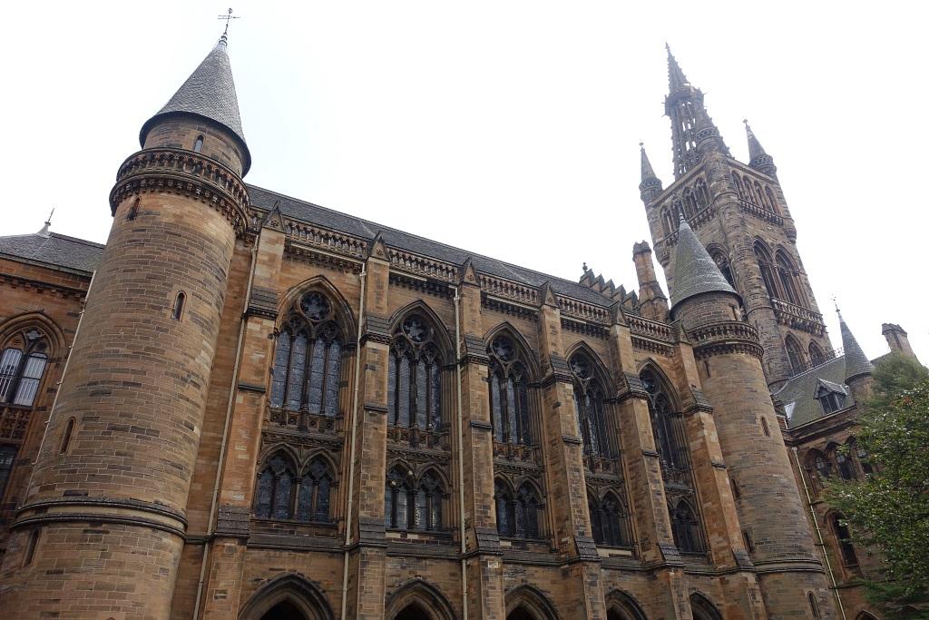 Glasgow mit Teenagern: University of Glasgow