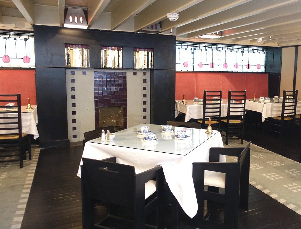 Schottish Architecture: Mackintosh Tearoom