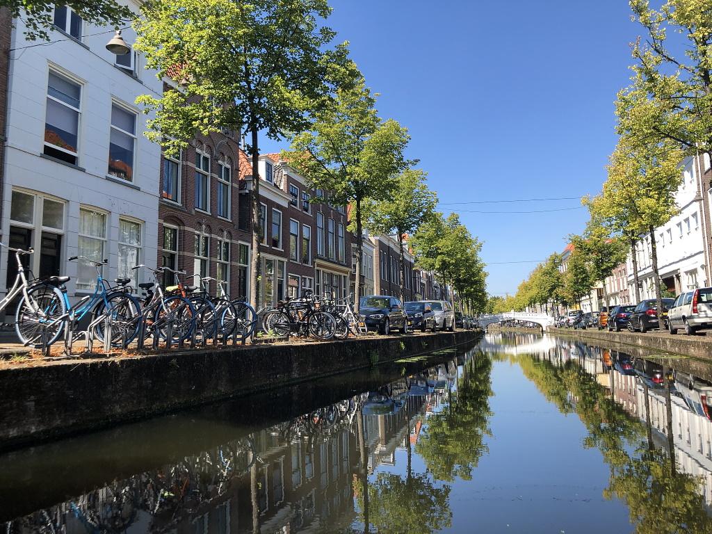 Holland mit Teenagern Delft