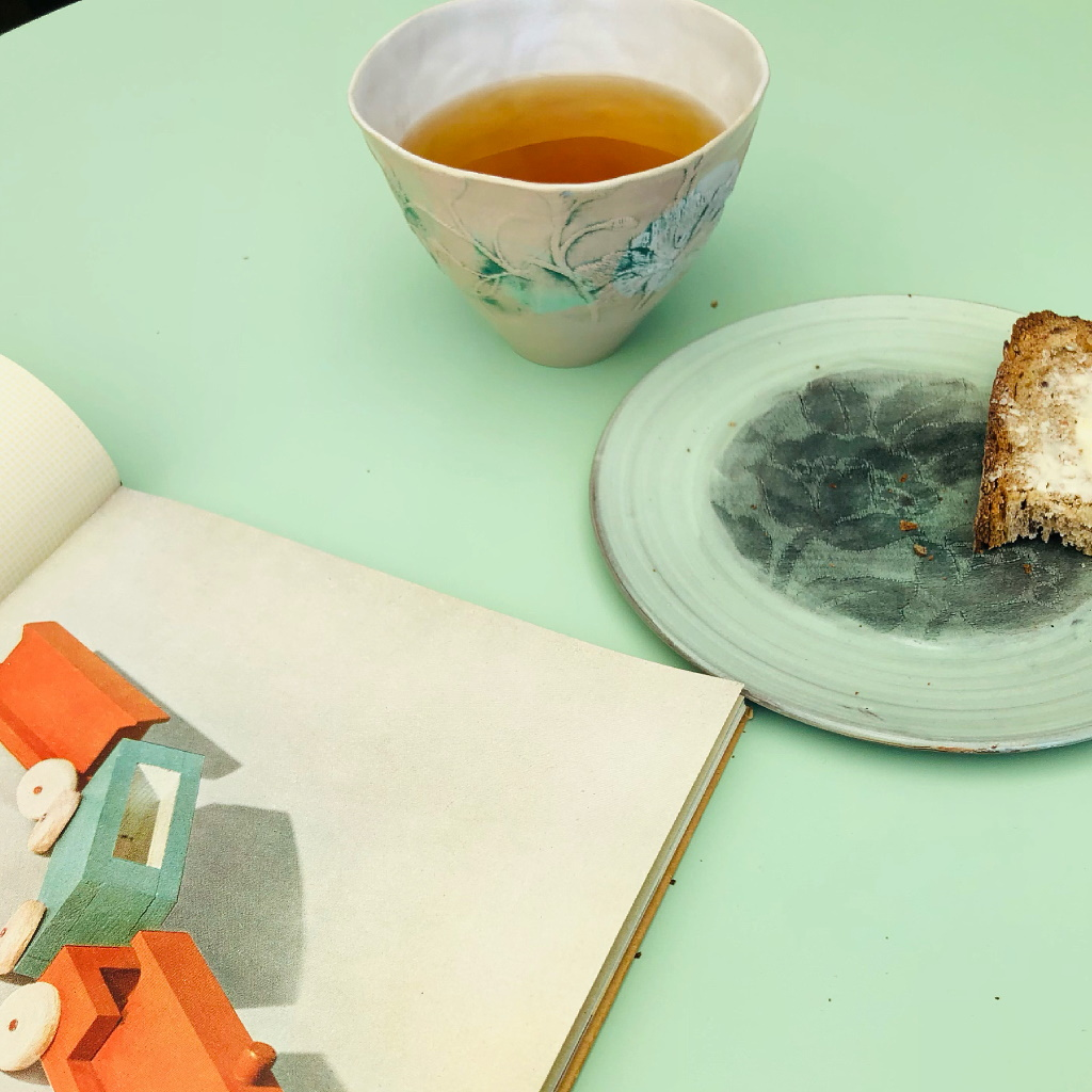 Teekeramik von Jessica Henkel