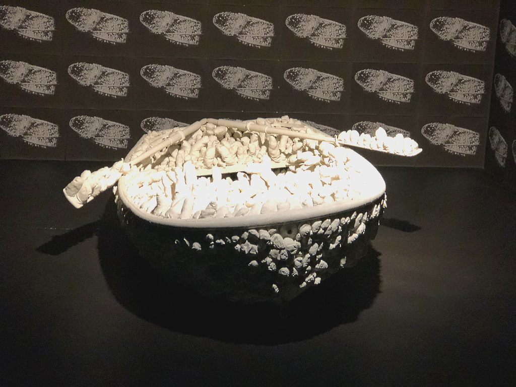 Yayoi Kusama: Aggregation: One Thousand Boats Show