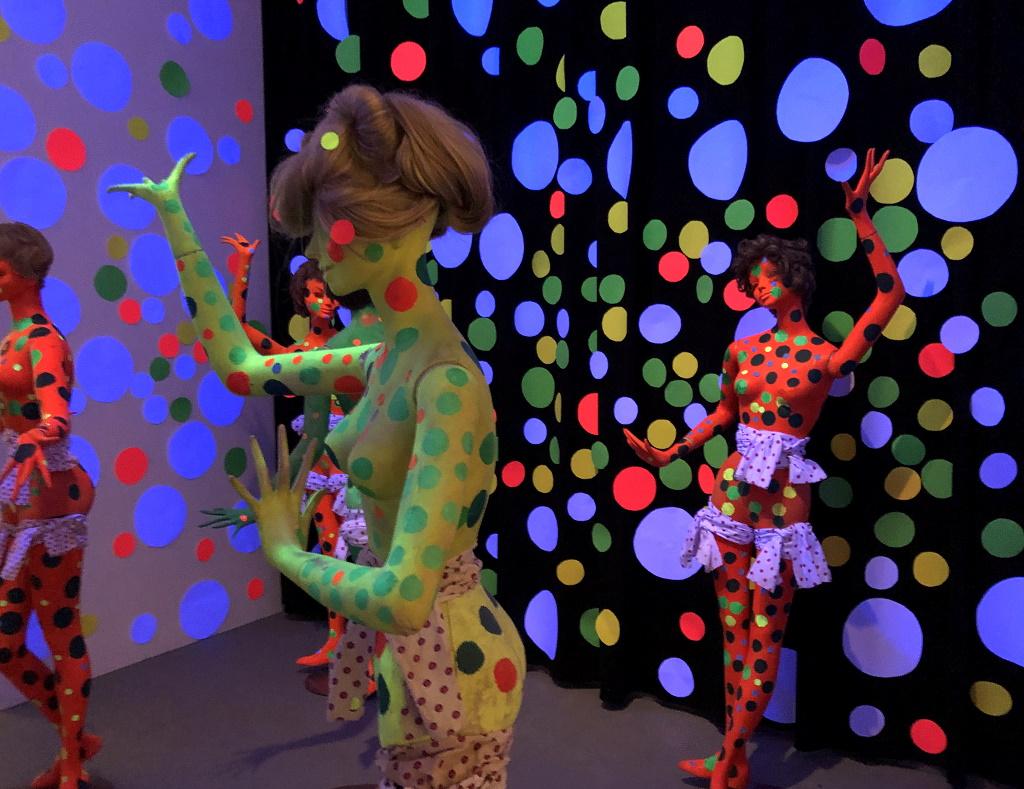 Kunst mit Teenagern: Yayoi Kusama
