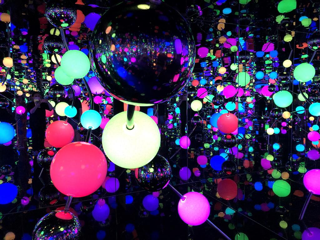 Yayoi Kusama in Berlin: Infinity Mirror Room
